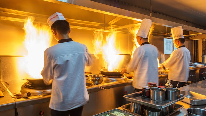 Image: Chefs at work/ hxdyl, Shutterstock