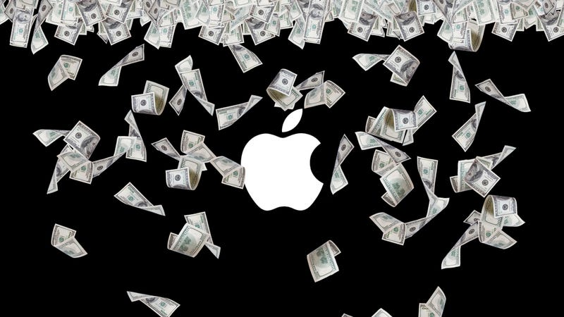 Illustration for article titled Holy Shit Apple Made a Lot of Money
