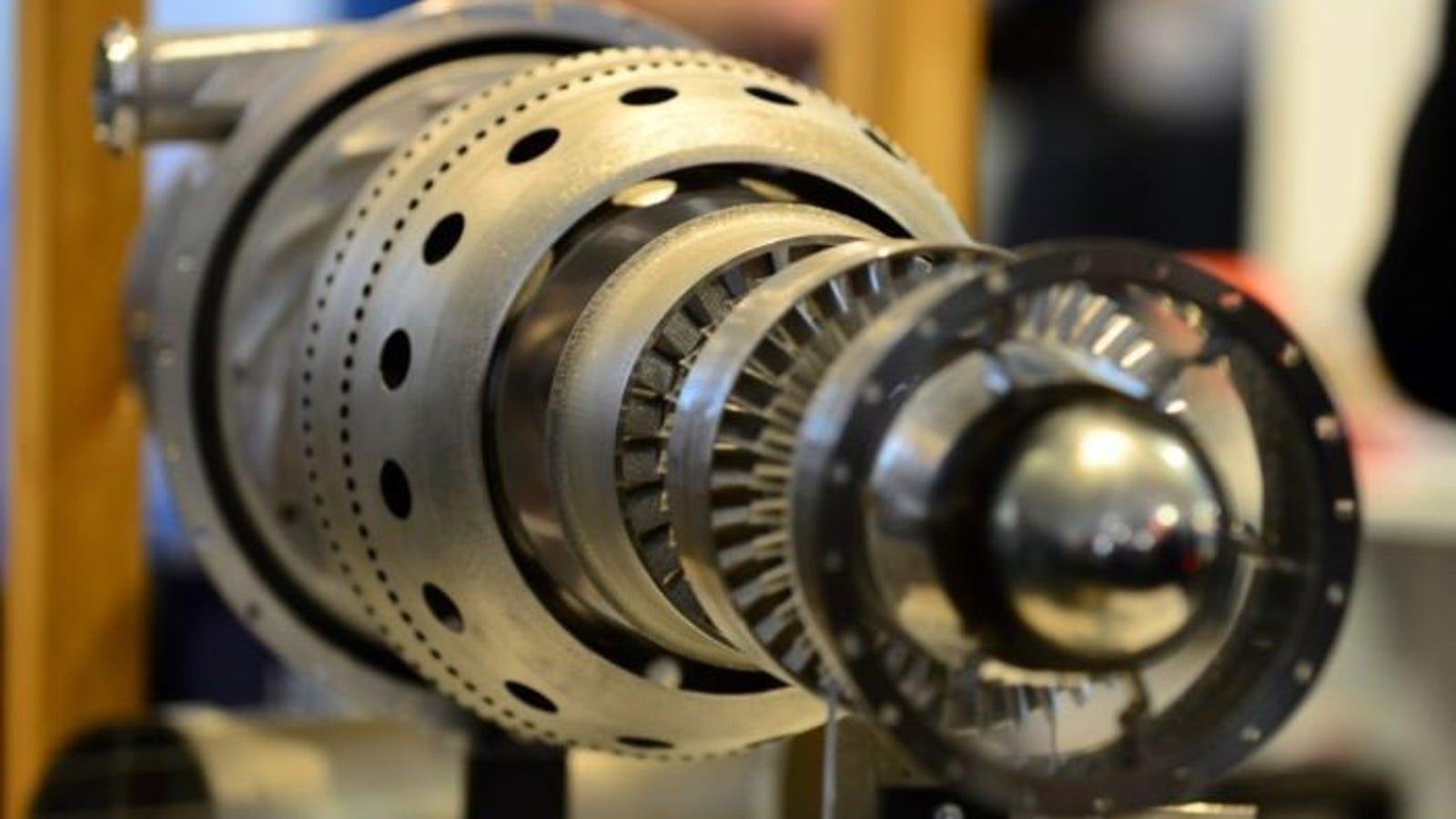 Así es el primer motor de avión a reacción fabricado con impresión 3D