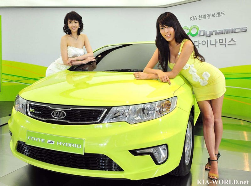 Illustration for article titled Kia Forte LPI Hybrid: First Production Kia Hybrid