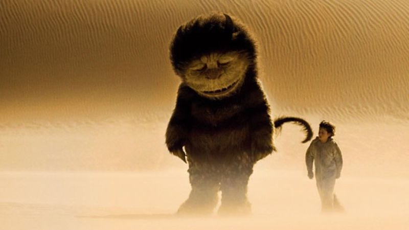 Illustration for article titled Check out the new Where The Wild Things Are trailer