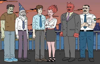 Illustration for article titled Watch The First 10 Minutes Of Ugly Americans