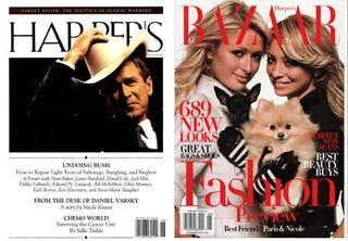 Illustration for article titled The Harper's (Bazaar) Index