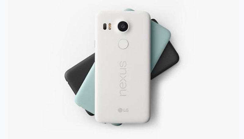 Illustration for article titled The Nexus 5X Is the Resurrection of the Best Phone Google Ever Made