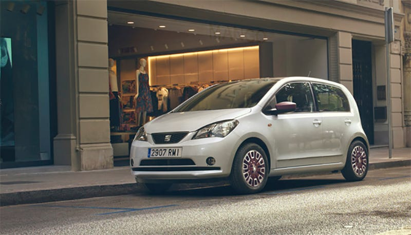 The Seat Mii By MANGO, 15 of which are now for sale on Amazon.fr (Photo Credit: Seat)