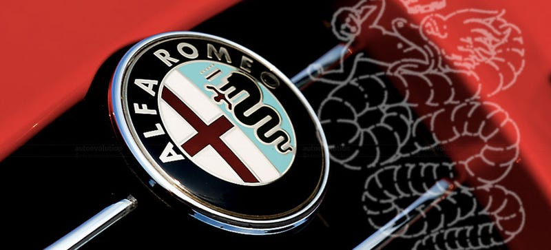Alfa Gives Us The Official Line On Whats Up With Their Snake Logo - Car sign meanings