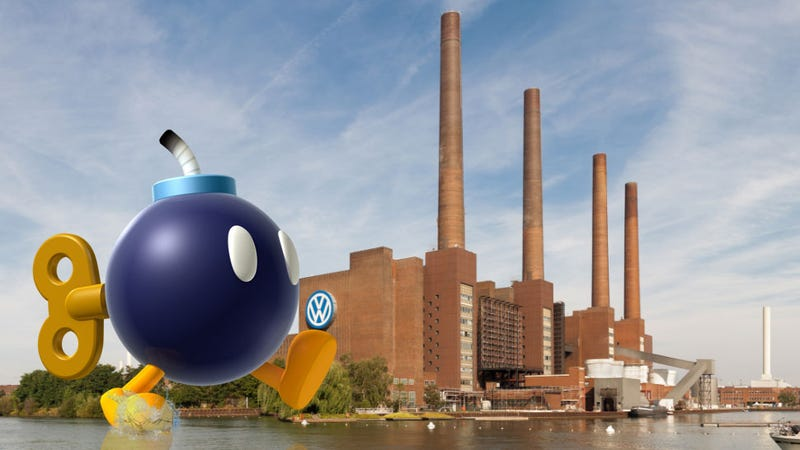 Illustration for article titled Volkswagen Finds An American WWII Bomb In Their Factory