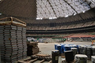 Illustration for article titled Death Of The Astrodome, World's First Indoor Stadium