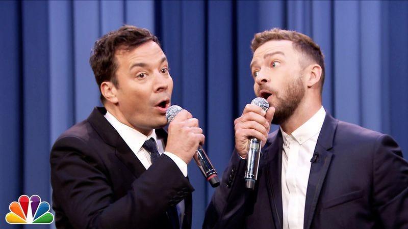 Illustration for article titled Late-night wars heat up as Fallon calls on Timberlake, Colbert on Kendrick Lamar