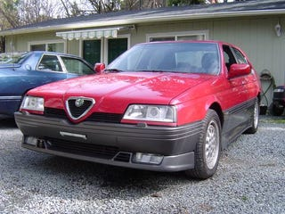 Illustration for article titled This Alfa Romeo 164 Q4 Is A Rare All-Wheel-Drive Beauty