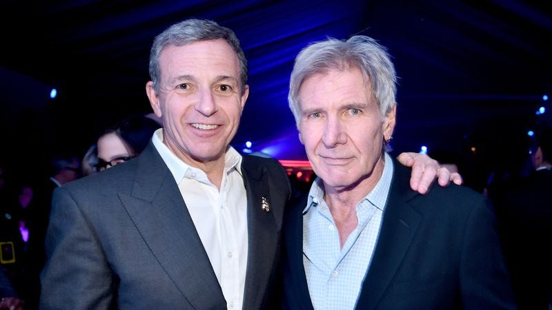 Iger and Ford at the Force Awakens premiere (Photo: Getty Images)
