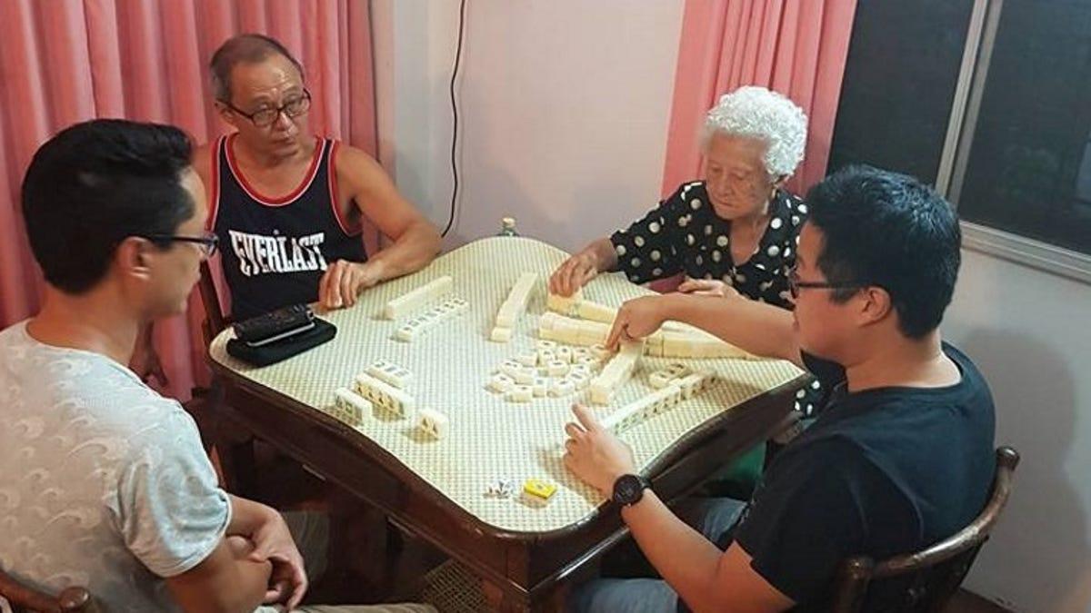 A Life Lived Through Mahjong