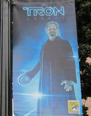 Illustration for article titled Tron Poster