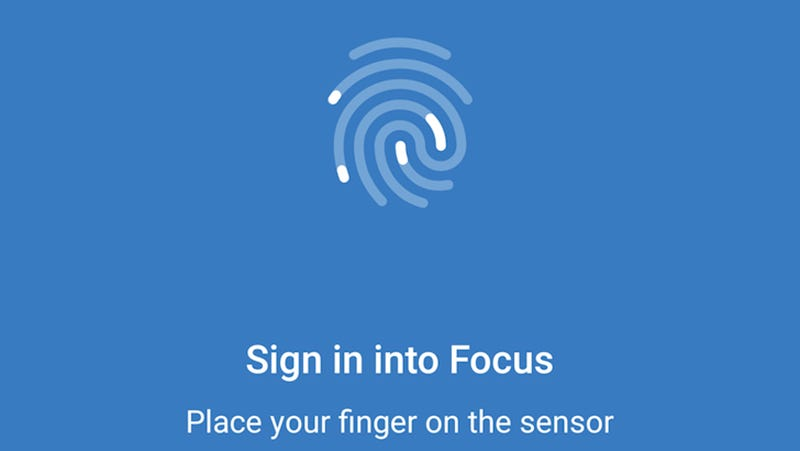 Illustration for article titled Focus Beta Now Locks Your Photos With a Fingerprint, Plays Video, and More