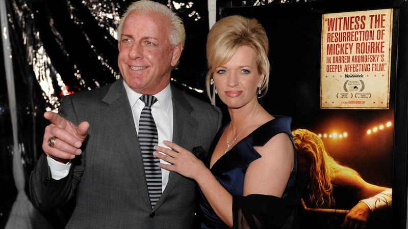 Illustration for article titled Looks Like Ric Flair's Fourth Marriage Is Over