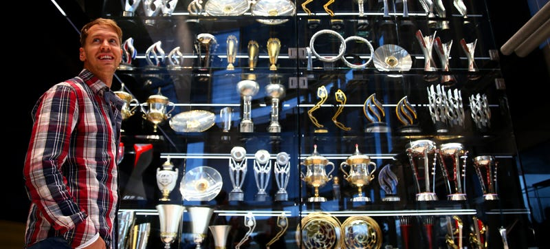 Illustration for article titled Red Bull's Stolen Formula One Trophies May Be Scrapped For Silver