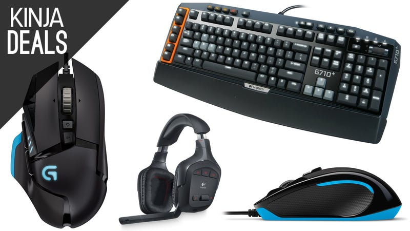 Illustration for article titled Today's Best Gaming Deals: Logitech Gear, Star Wars Everything, & More