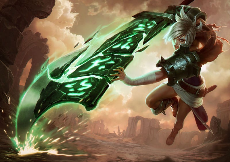Illustration for article titled League Pro Runs Face-First Into Wall Trying To Escape Opponent At Worlds
