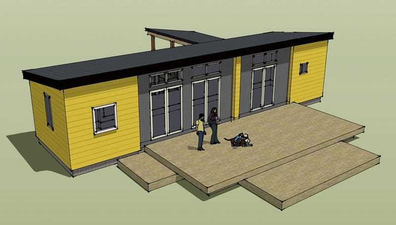 Illustration for article titled The Instruction Manual For This Ikea Pre-Fab House Must Be an Encyclopedia
