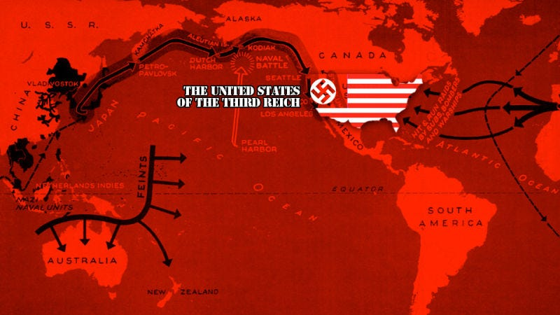 Illustration for article titled This Is How the Nazis Could Have Invaded the United States (but not really)