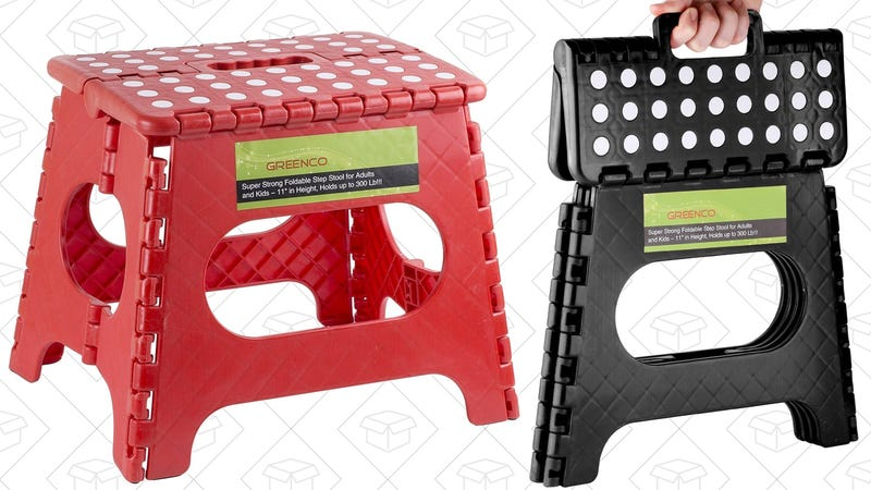 Greenco Folding Step Stool, $10