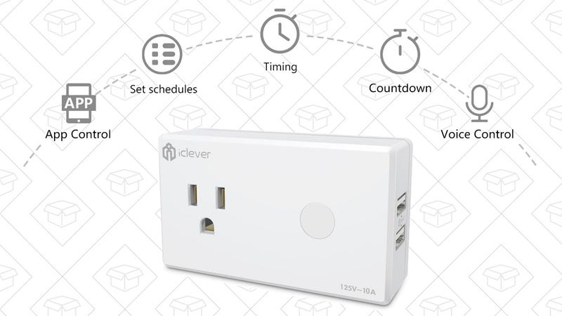 iClever Smart Plug | $15 | Amazon | Promo code CLEVER99