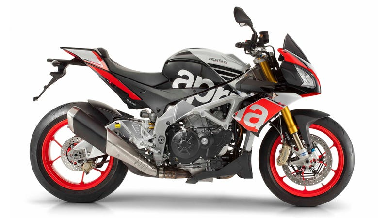Illustration for article titled The 2015 Aprilia Tuono V4 1100 Twins Will Fulfill Your Naked Fantasies
