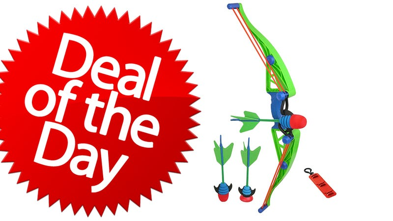 Illustration for article titled This Zing Air Z-Curve Bow Is Your Robin-Hood Deal of the Day