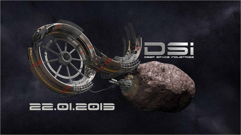Illustration for article titled Dos empresas se lanzan a la explotación minera de asteroides en el espacio