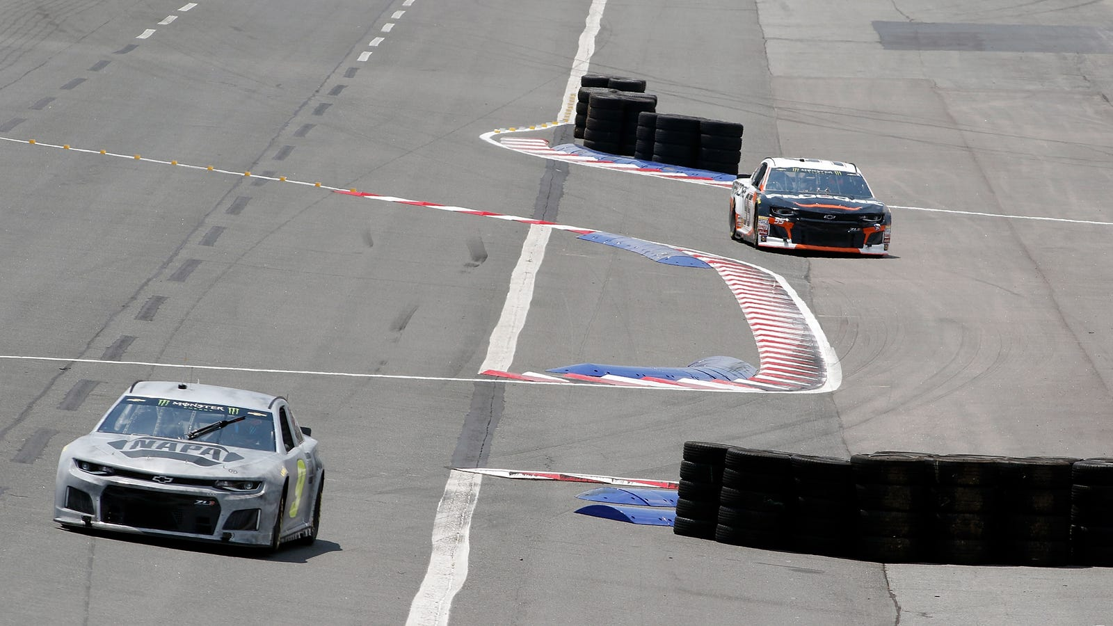 NASCAR Had To Adjust Its Road Course-Oval Track Because Drivers Kept Cheating It With Shortcuts