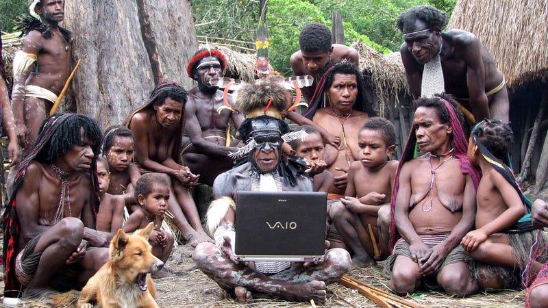 фото племен которые ходят голыми
