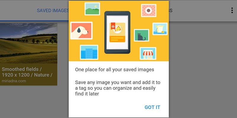 Illustration for article titled Save Your Google Image Searches on Mobile