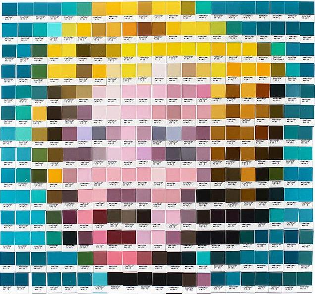 Pantone Colors Artwork Using Pantone Color Chips