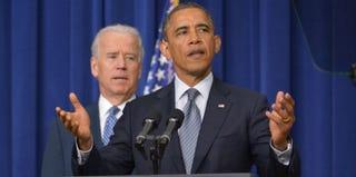 President Barack Obama speaks on gun control. (Mandel Ngan/AFP/Getty Images)