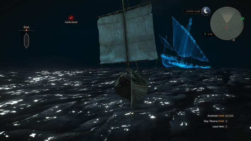 Wait, There's A Ghost Ship In The Witcher 3?