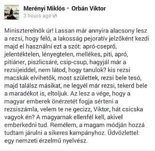 Illustration for article titled Soha ilyen vicceset nem írtak Orbán Viktor Facebookjára