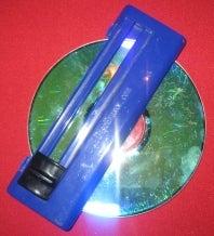 Illustration for article titled Disc Eraser Renders Optical Media Unreadable