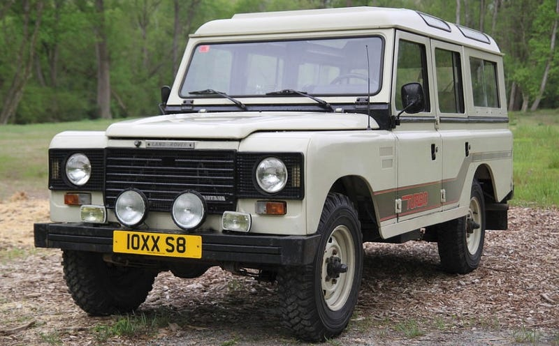 for $18,500, could this 1986 land rover santana 109 turbo diesel be