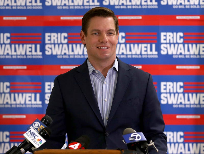 Illustration for article titled Swalwell Satisfied With Campaign Sparking Important Conversation About Hopeless Candidates Who Waste Everyone's Time