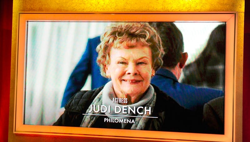 Illustration for article titled Dame Judi Dench Needs a Script Reader, Still Gets All the Nominations