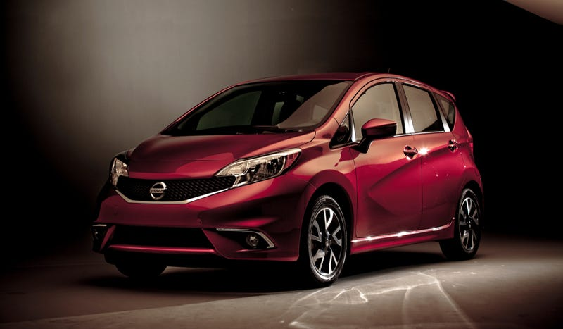 Illustration for article titled The Nissan Versa Note SR Is Not The Hot Hatch You Were Looking For