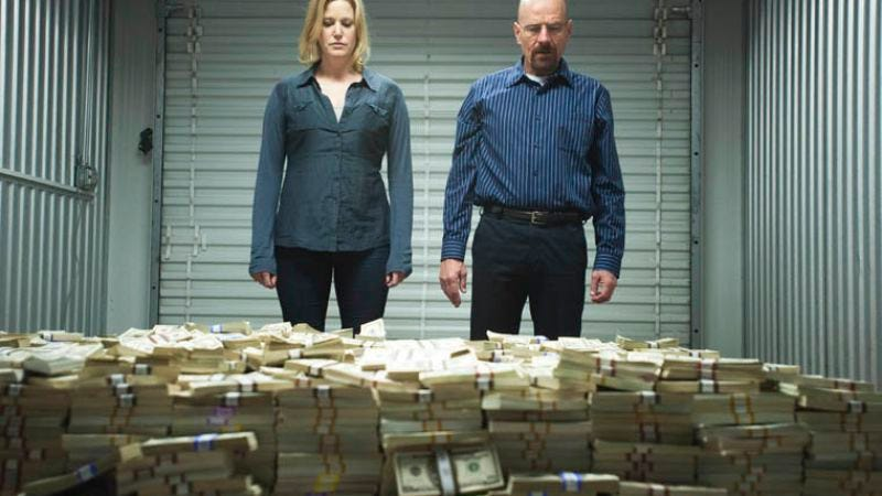 Illustration for article titled Someone actually calculated how much money was probably in that Breaking Bad pile