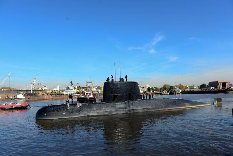 El submarino San Juan. (Foto: AP Images)