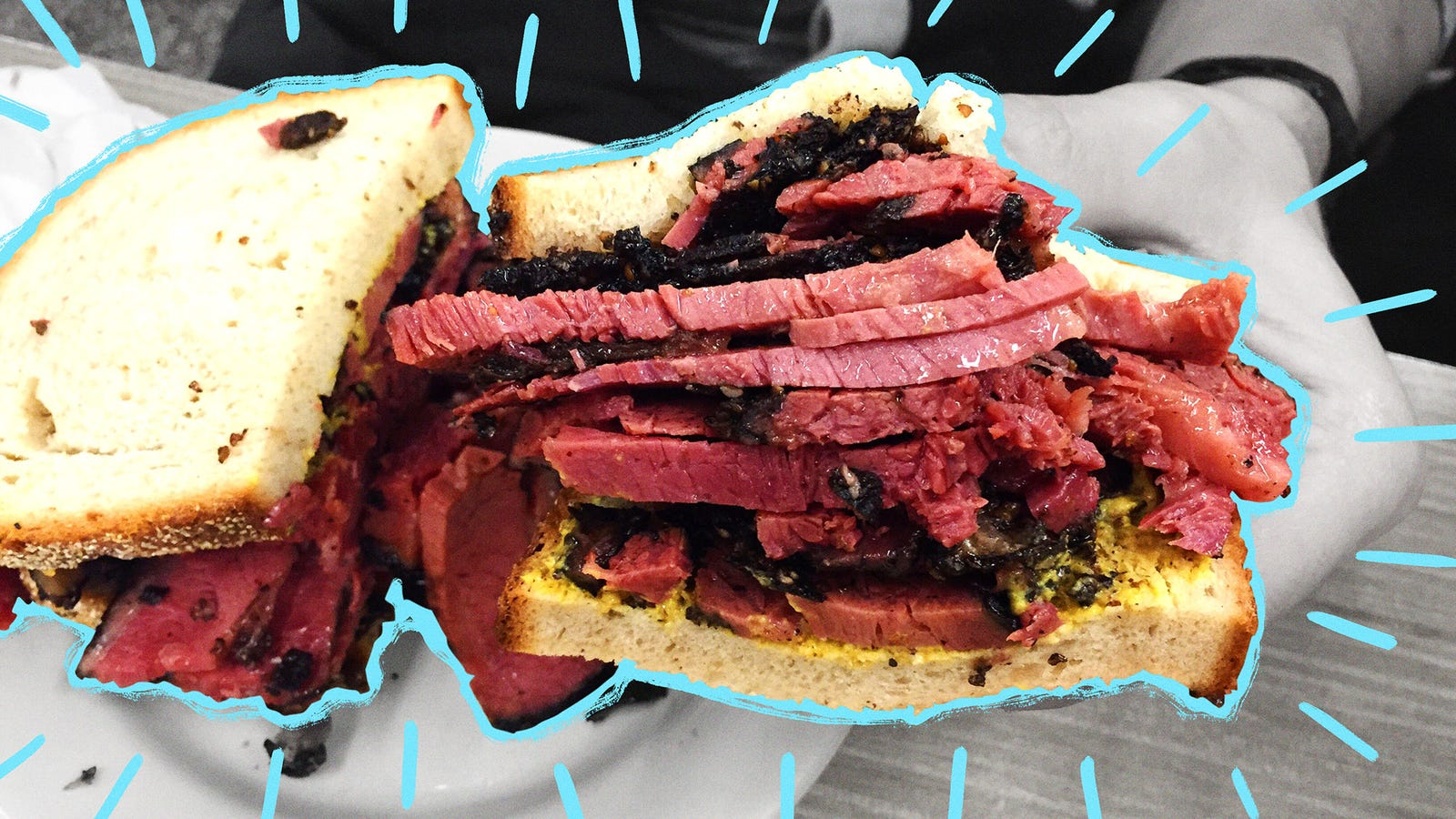 Smoke a whole dang pastrami, because you're worth it