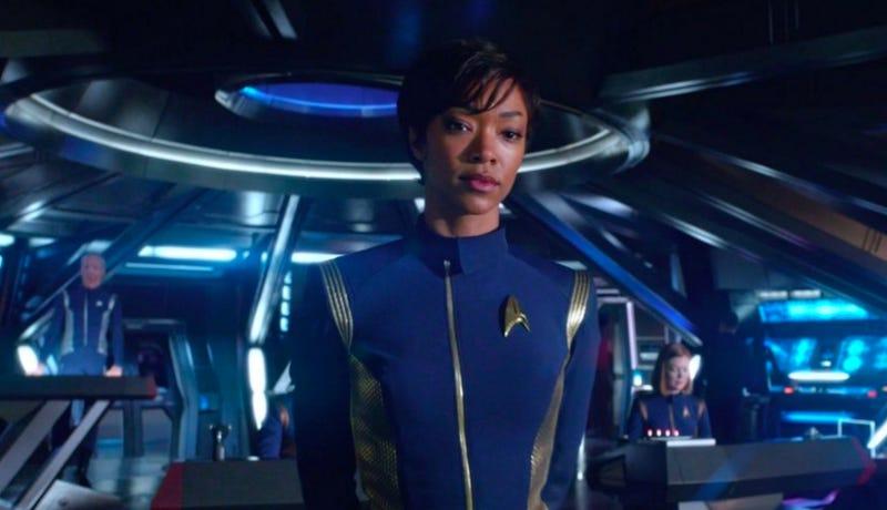 Sonequa Martin-Green in Star Trek: Discovery. Image: CBS