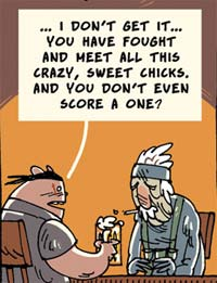 Illustration for article titled Comic Explains Why Solid Snake Never Gets Any Fox Tail