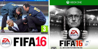Illustration for article titled Some Ideas For FIFA 16's Box Art