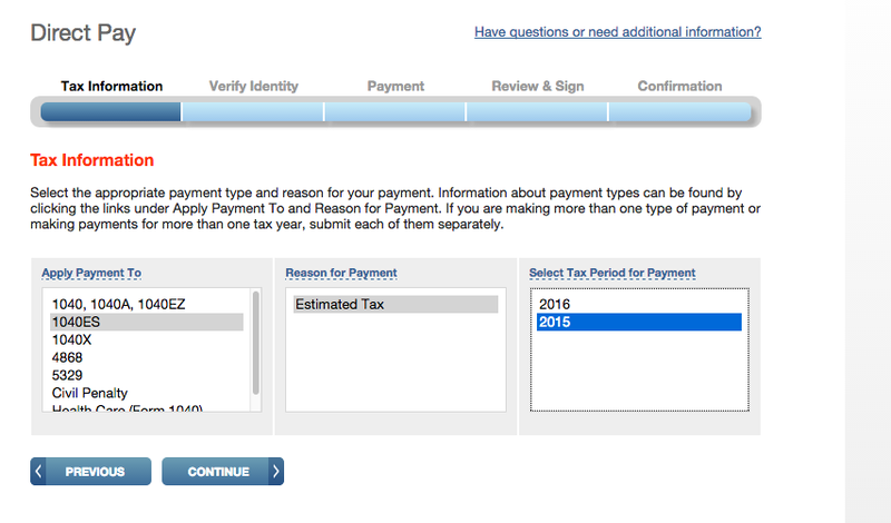 Illustration for article titled The IRS's Direct Pay Tool Lets You Pay Your Taxes Online