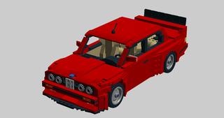Illustration for article titled LEGO E30 M3!