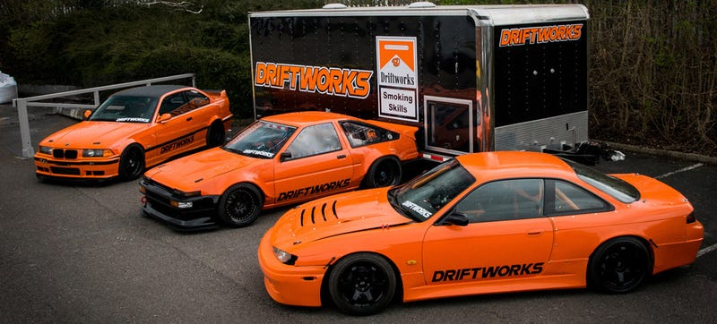 Europeans Have To Out Crazy Japan When It Comes To Drift Cars